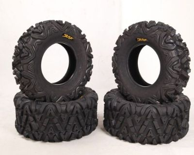 New Promotion!set Of 4 New Atv Tires At 25x8-12 Front & 25x10-12 Rear /6pr