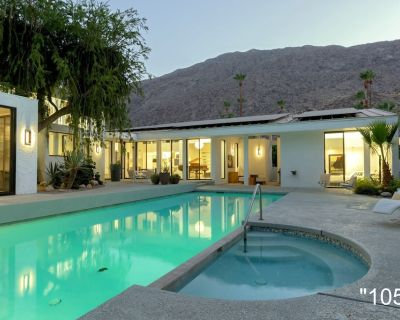Downtown Palm Springs Modern Luxury Vacation Home with Private Gym, Pool, Spa - Historic Tennis Club