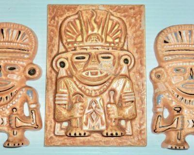 New - Pre-Colombian Wall Hanging Pieces