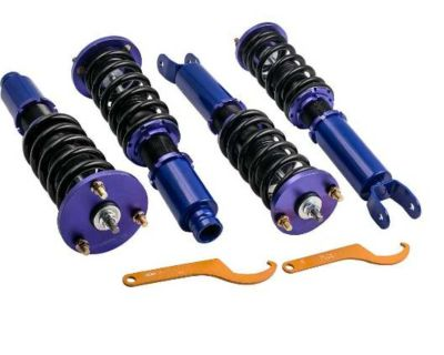 Compatible for Honda Accord 2008-2012 / Compatible for Acura TSX 2009-2014 Coilovers Suspension Kit Blue