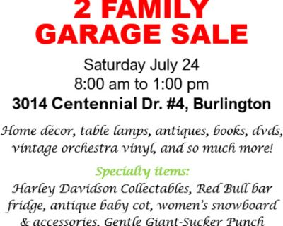 2 Family Garage / Moving Sale