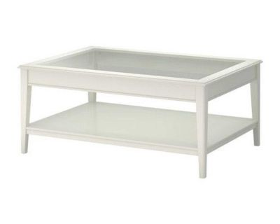IKEA White Table Set of 2 - Coffee and Side Tables