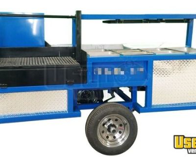 NEW Commercial BBQ Grill & Smoker Trailer Mobile BBQ Pit