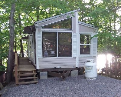 Lakefront 1BR cabin with boat dock, beaches, and fishing - Moscow