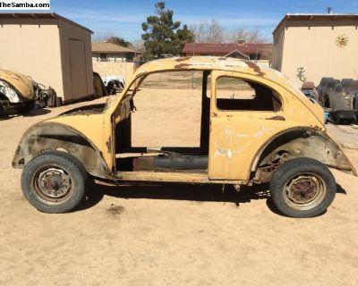 1961 bug body only, Shell, sheetmetal.