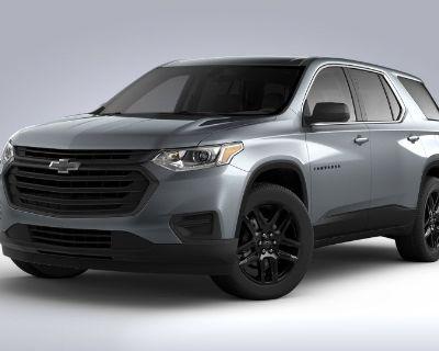 New 2021 Chevrolet Traverse LS Front Wheel Drive SUV