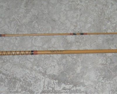 VINTAGE HEDDON MARK FISHING ROD - # 8255 - 8 1/2' - WET FLY ACTION - MADE IN USA