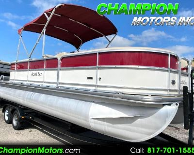 Used 2016 SouthBay S224RS Pontoon Boat w/Mercury 115HP Command Thrust 4 Stro