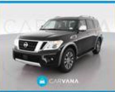 2017 Nissan Armada Black, 70K miles