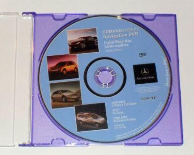Mercedes Benz C,clk,m,r,gl Class Navigation Dvd Cd Disc 2006.1 Disk Gps Map