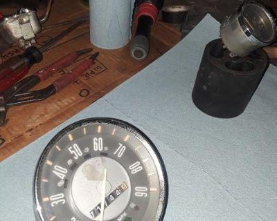 Karmann Ghia speedometer and fuel gauge
