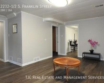 2232 1/2 S Franklin St #1, Denver, CO 80210 2 Bedroom House