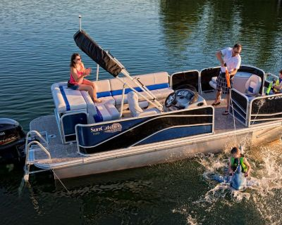 2020 SunCatcher V20 Fish & Cruise Pontoon Boats Norfolk, VA
