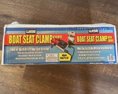 Wise Boat Seat Clamp (with swivel) x 2
