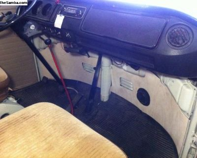 New Front kick panels for your 1968-79 vw bus