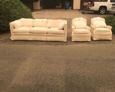 Sofa. 2 chairs.  Eurpean manufactured