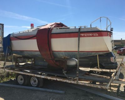 Sailboat for sale. 1987 Etap 23 with dual axle trailer