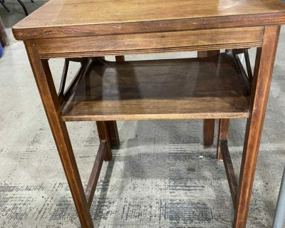 Cute Little 1940 s Telephone Table - Side Table **Pickup on Twin Hills Rd