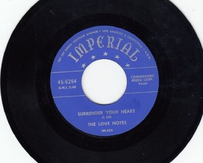 LOVE NOTES ~ Surrender Your Heart *Mint-45 !
