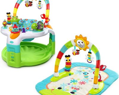 Bouncing activities for baby