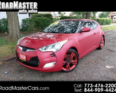 2012 Hyundai Veloster 3dr Cpe Auto w/Red Int