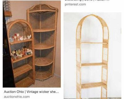 ISO: wicker stands/plant stands