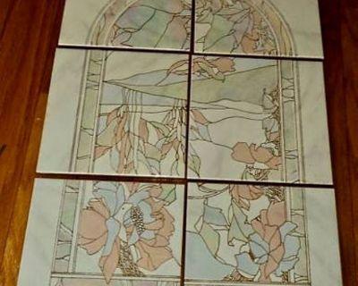 New - Hand-Made Decorative Porcelain Tile Mosaic