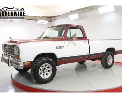 1985 Dodge Power Ram 150