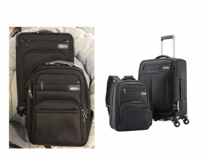 Samsonite Premier II NXT 2-piece Softside Carry-on Spinner Luggage and Backpack Set