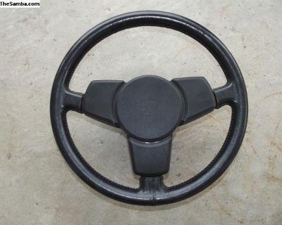 Porsche 911 SC Leather Covered Steering Wheel