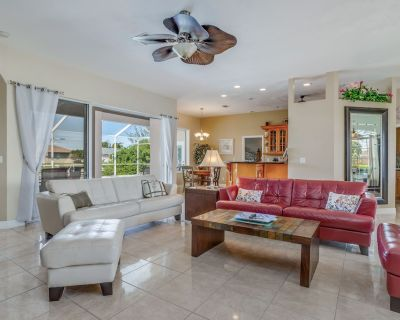Spacious pet-friendly home w/ private pool, canal views, & private grill! - Cape Coral