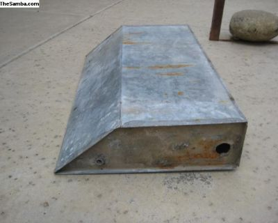 Original Camper Metal Water Tank