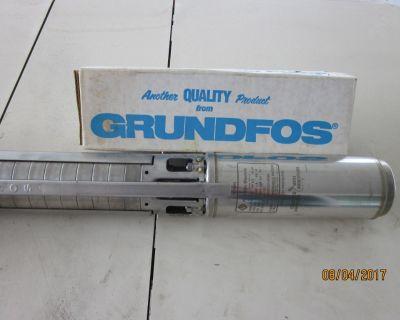 Deepwell Pump Grundfos 3/4Hp 130 Volt