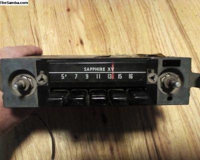 Sapphire XV original radio