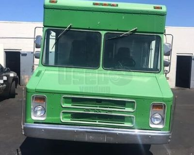 Ready to Roll GMC Step Van Food Truck/Mobile Kitchen w/ Pro Fire Suppression