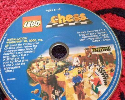 Lego Chess Game CD-rom. Ages 6-12
