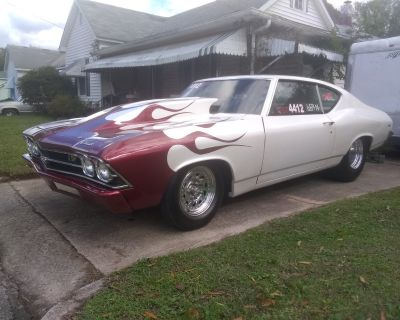 Beautiful 1969 Chevelle Drag Car