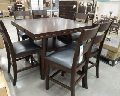 Counter Height Dining Table set - 7 pieces