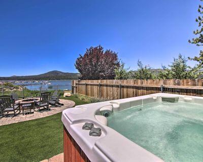 NEW! Lakefront Luxury w/ Outdoor Oasis & Game Room - Big Bear Lake