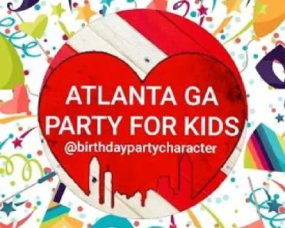Birthday Party Character Rentals in Atlanta Georgia