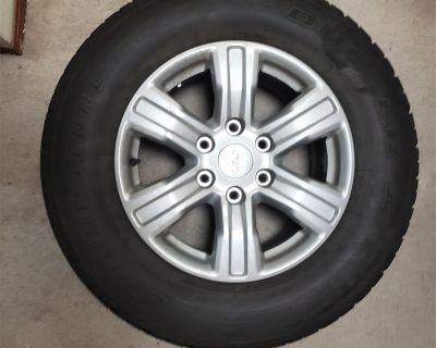 New Mexico - Like new set of OEM STX package Tires, Wheels and Spare for sale