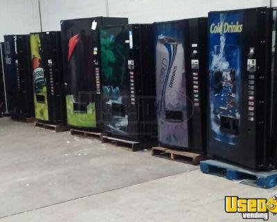 Texas Snack / Soda Vending Machine Warehouse Sale - Major Brands!