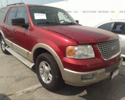 Salvage Red 2006 Ford Expedition
