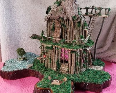 Fairy Mansion with overlook