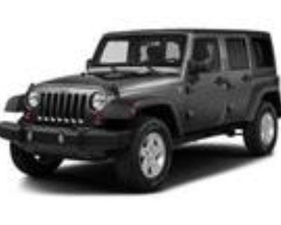 2017 Jeep Wrangler Gray, 70K miles