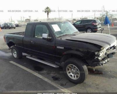 Salvage Black 2010 Ford Ranger