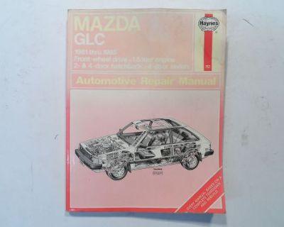 Mazda Glc 1981-1985 Haynes Brand Auto Repair Manual 757