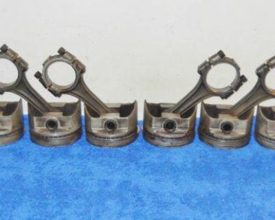 1986 Ford Mustang Gt Conv Saleen Mercury Orig 5.0 302 Pistons + Connecting Rods