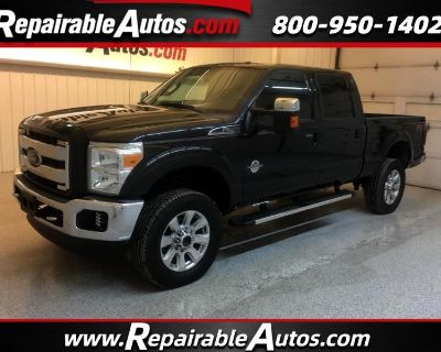 2015 Ford F-250 SD FX4 6.7 Diesel Repairable Rear Damage
