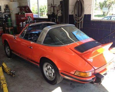 Porsche Carrera Ducktail - Authentic , Tangerine, Grill Included, Rare! 73-74